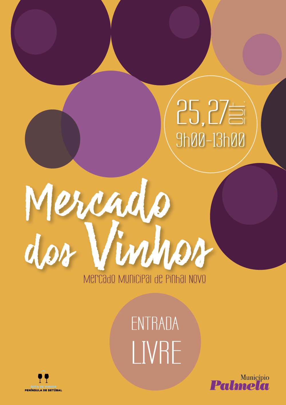 Mercado dos Vinhos no Pinhal Novo